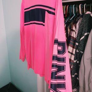 PINK Victoria's Secret Tops - PINK Long sleeve t-shirt